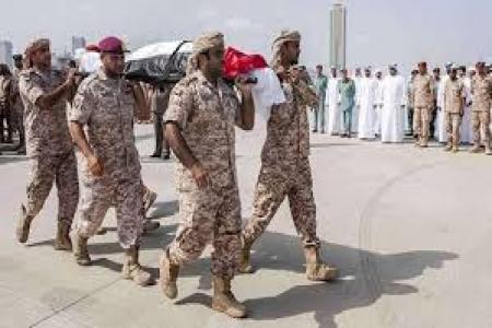 الإمارات تعلن عن استشهاد احد جنودها في اليمن