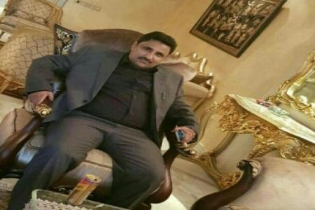 وصول الشخصية الإجتماعية والمرجعيه القبلية البارزه في مناطق الصبيحه الشيخ عصام هزاع إلى العاصمه عدن
