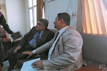 وكيل وزارة التعليم العالي يلتقي نائب وزير التخطيط
