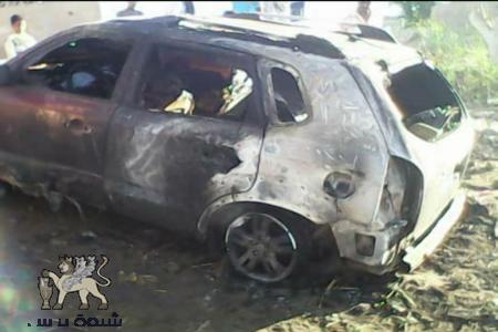 عاجل: إنفجار عبوة ناسفة بسيارة مسؤول جهاز الامن القومي في محافظه لحج