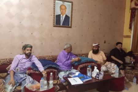 محافظ لحج يدشن الأمسيات الرمضانية بحضور حمدي شكري