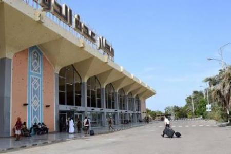 مطار عدن: إعادة التأهيل تسير وفق مراحل مزمنه وندعو لتحييده عن المناكفات السياسية