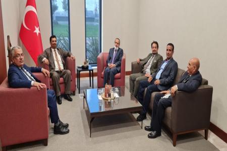 الوصابي والجفري يصلان تركيا في زيارة رسمية